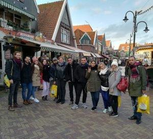 Tour of Volendam village